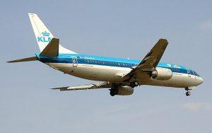 vliegtuig naar Amerika